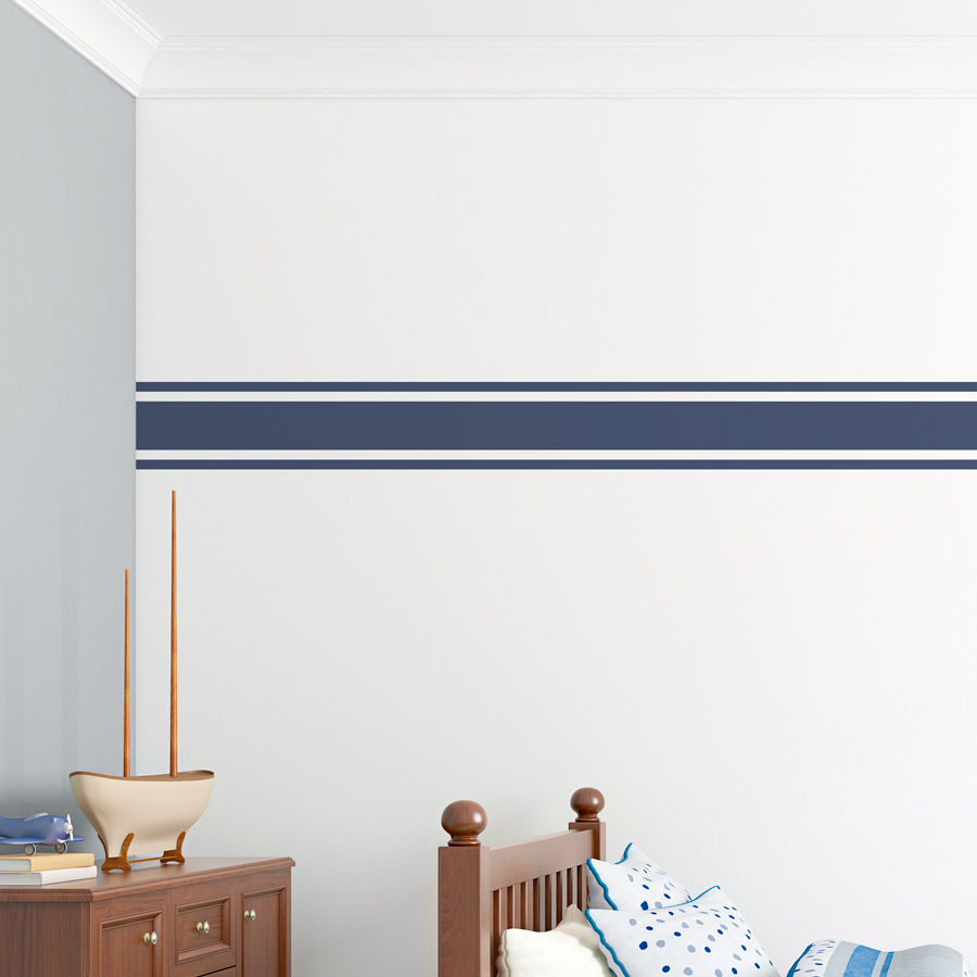 Exceptionnel Wall Stripe Wall Decal