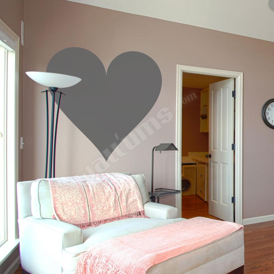 Deluxemodern design Wall Art Decal - Giant Heart