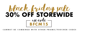 30% off Black Friday Cyber Monday Sale