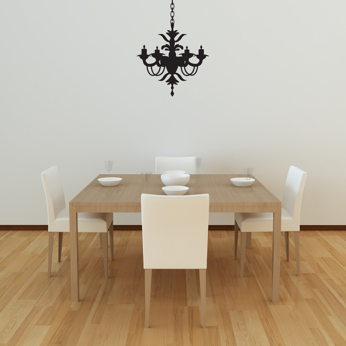 Chandelier wall decal style 1 arubaitofo Gallery