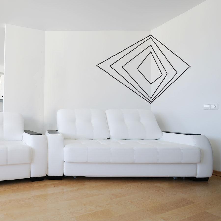 & Corner 3d Art Wall Decal