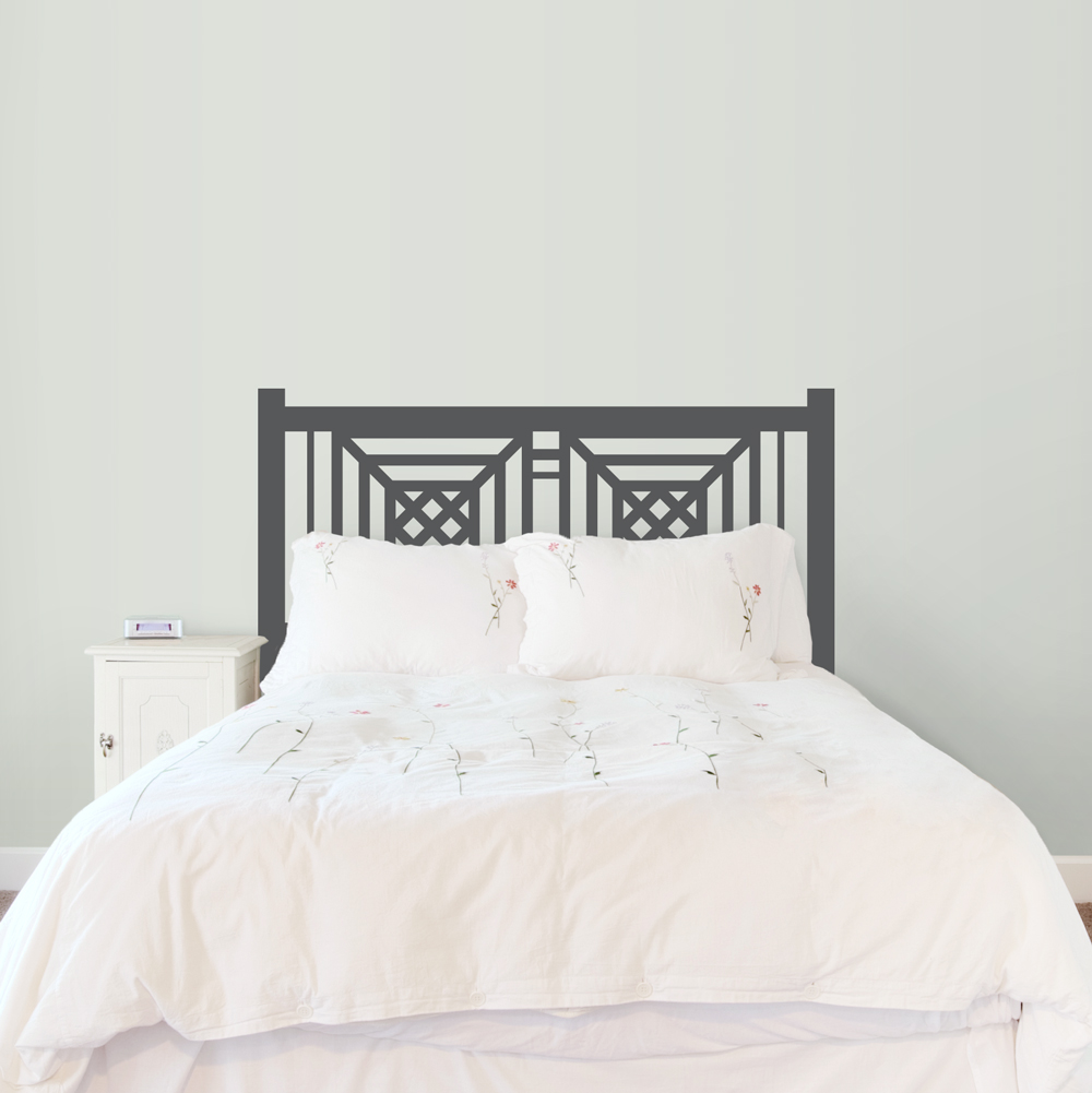 Newfield Headboard Wall Decal