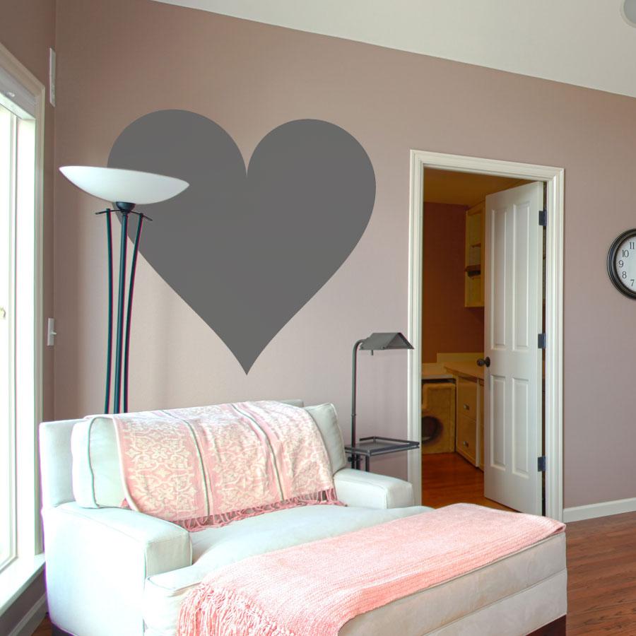 Good Deluxemodern Heart Wall Decal | Love Heart Wall Sticker