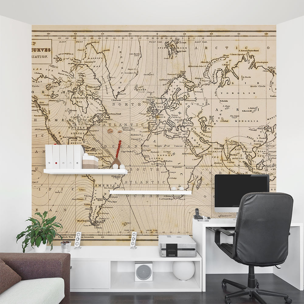 Old world map wall mural gumiabroncs Image collections