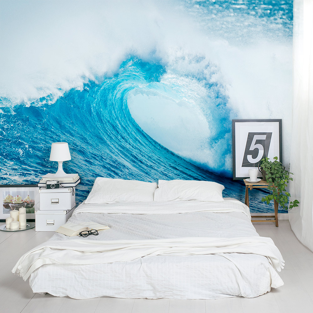 Wave Crash Wall Mural