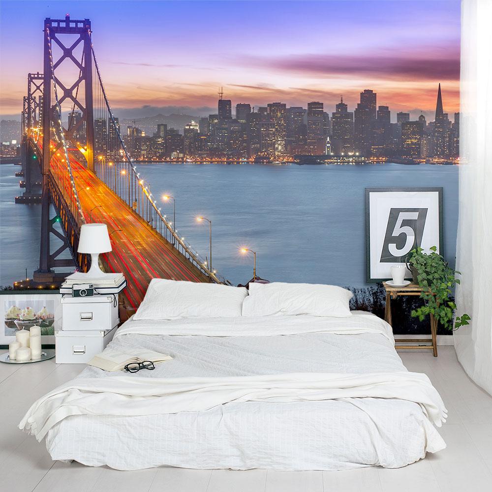 Bay Bridge To San Francisco Wall Mural