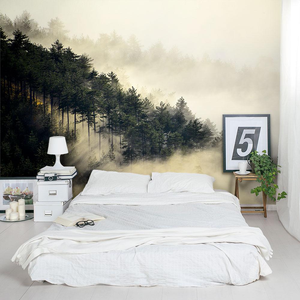Fog Forest Wall Mural
