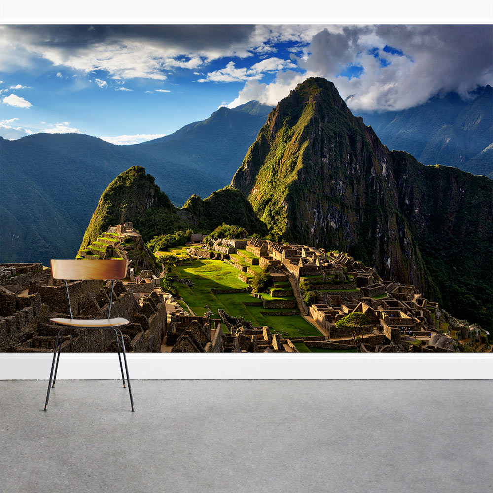 Incan Ruins Wall Mural
