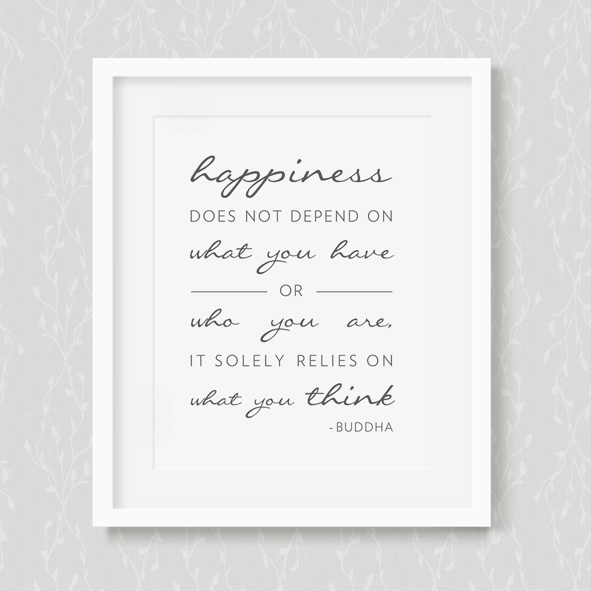Happiness - Art Print