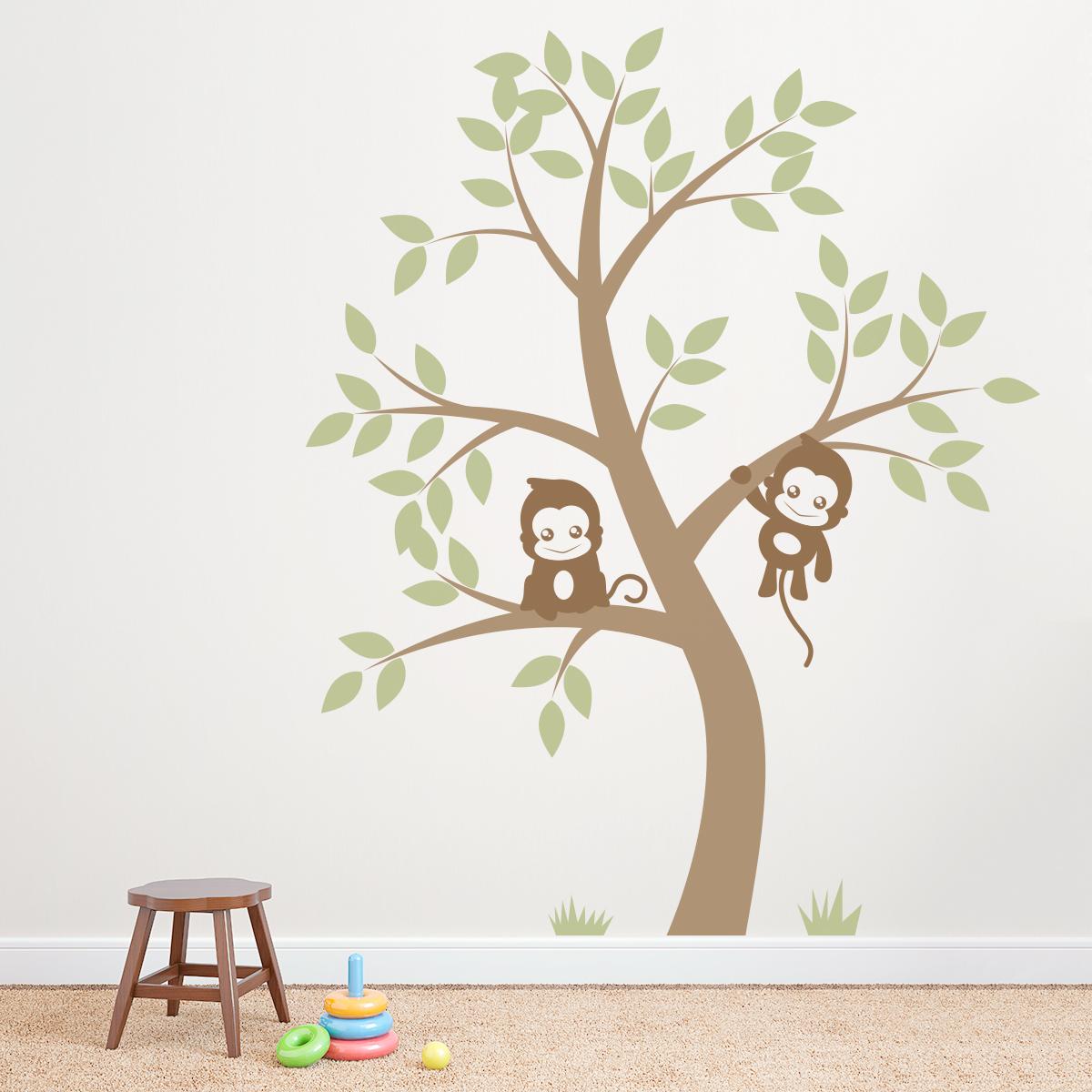 wall decals tree 2017 - Grasscloth Wallpaper