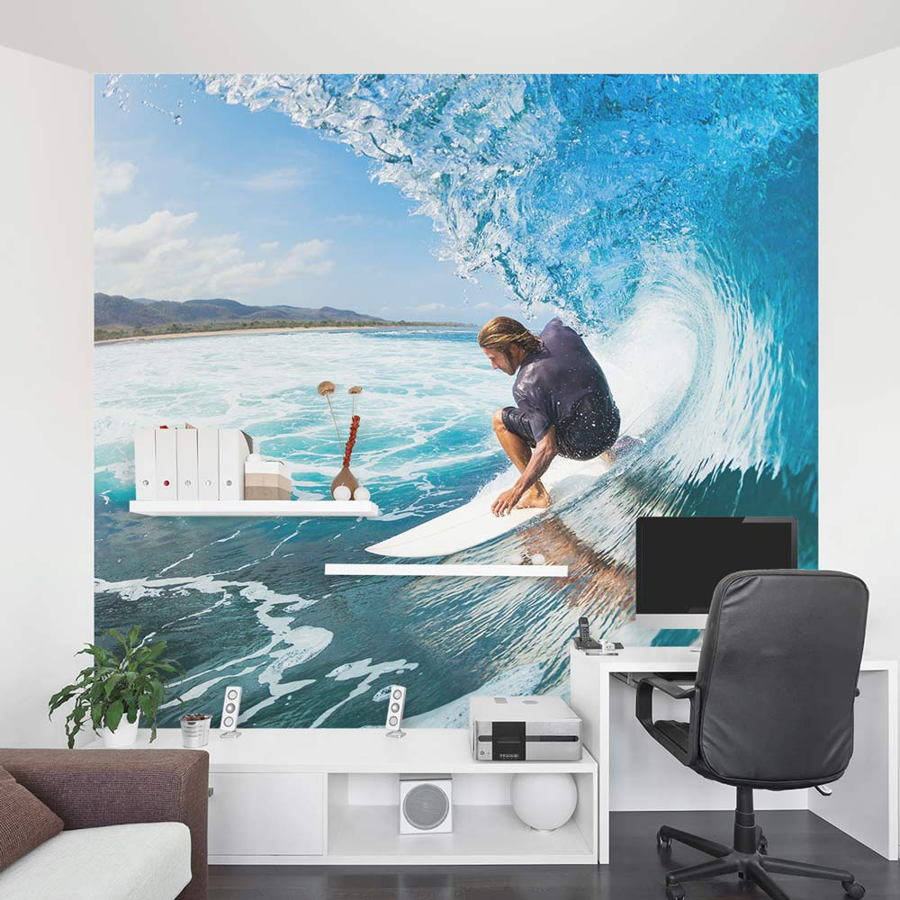 Surfing Wall Decal