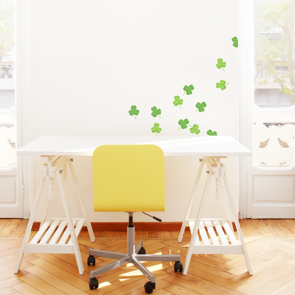 Shamrock Printed Wall Decal