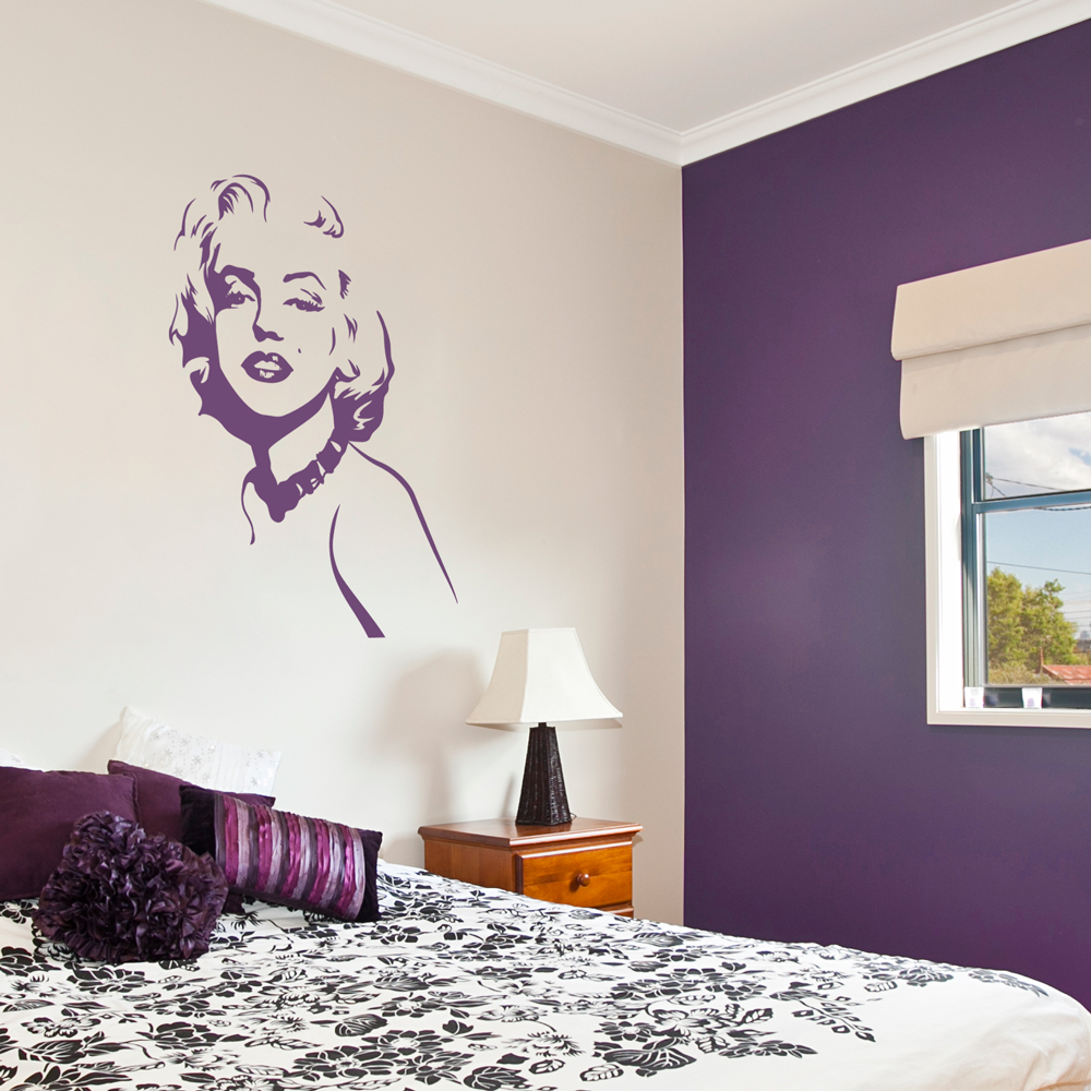 Marilyn Monroe Wall Decal | Marilyn Monroe Wall Sticker