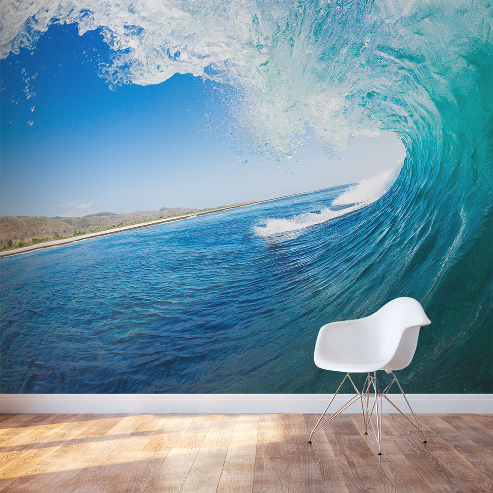 Wallpaper Decal: Ocean Wallpaper Mural