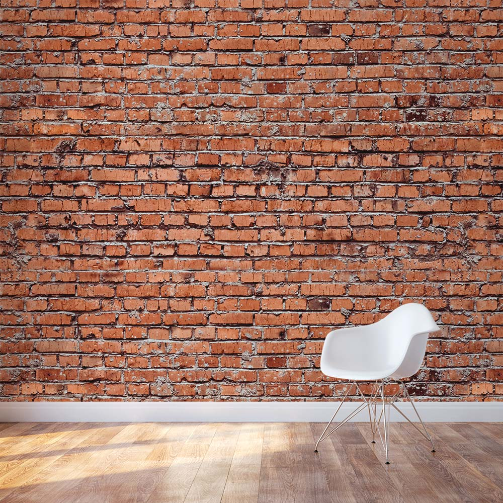 Wall: Brick Wall Mural Decal