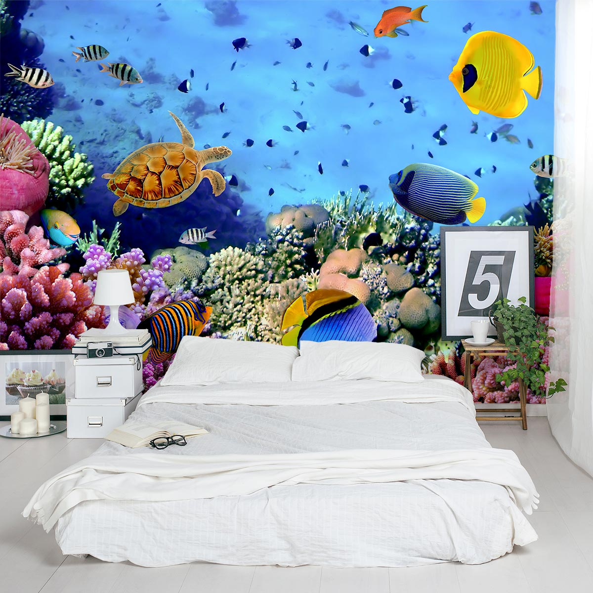 Under The Sea Wall Decal Underwater Wall Decal Wallums