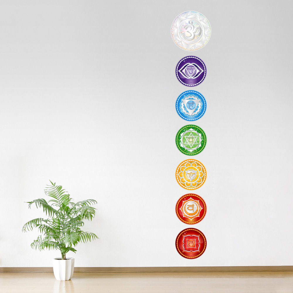 Chakra Set Printed Wall Decal ... : wall decalls - www.pureclipart.com