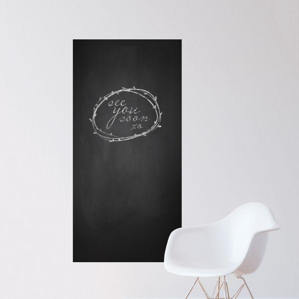 blank chalkboard wall decal | blackboard wall sticker | wallums
