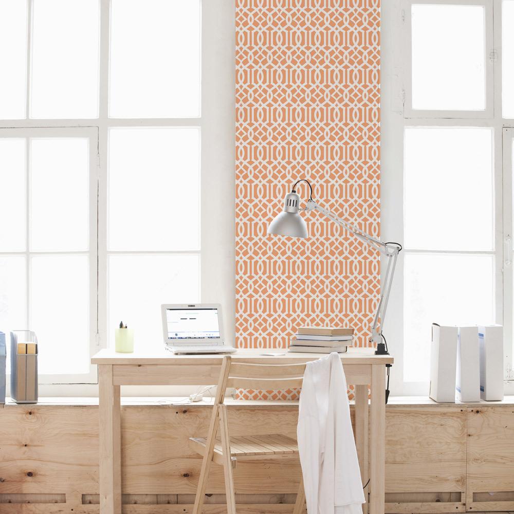 Trellis Removable Wallpaper Moroccan Style Wallpaper Design
