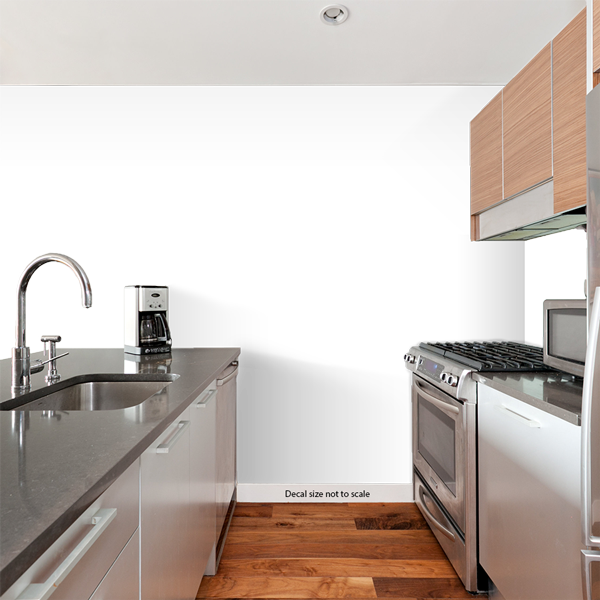 Kitchen Rules Wall Quote Decal
