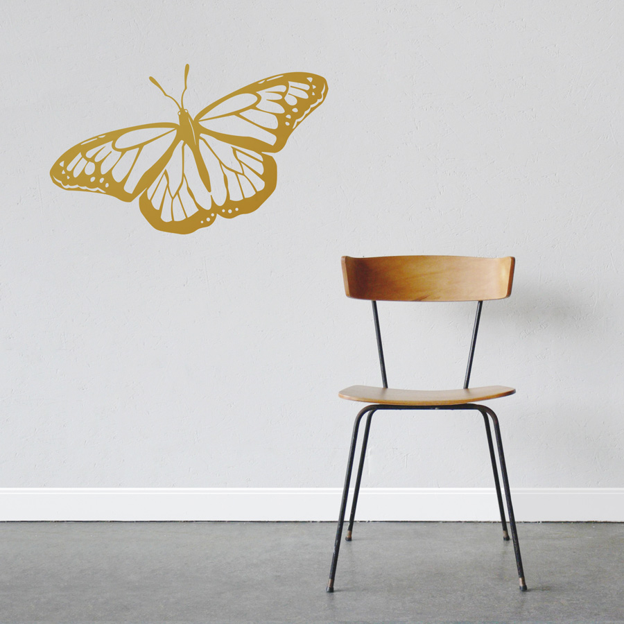 Monarch Butterfly Wall Decal