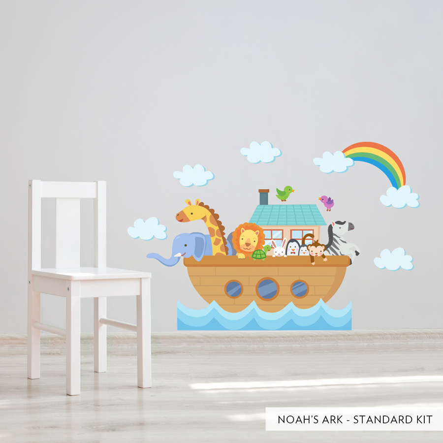 Noah S Ark Printed Wall Decal