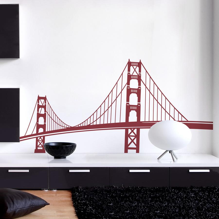Golden Gate Bridge Wall Decal San