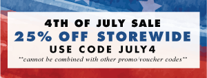 25% off - Wallums 4th of July Sale