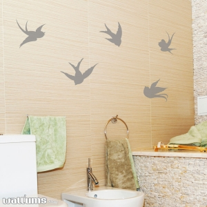 Swallow Bird wall decal