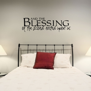 And the wall decal quote