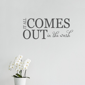It all wall decal quote
