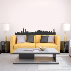 New York Skyline Vinyl Wall Art Decal