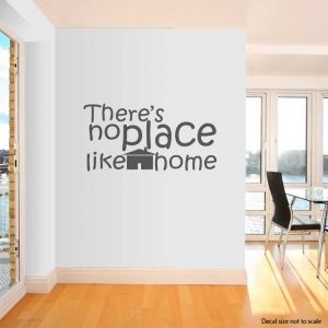 theres no wall decal quote