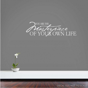 You are wall decal quote