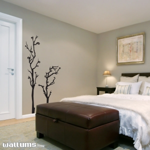 Funky abstract tree wall decal