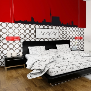 Berlin Germany Skyline Vinyl Wall Art Decal