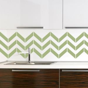 Chevron Stripe wall decal