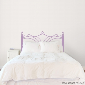 Eliza Iron Headboard wall decal