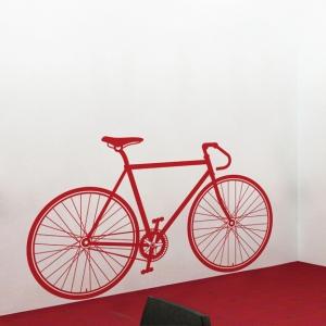 Fixed gear bike wall decal