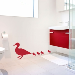 Duck Family Wall Decal