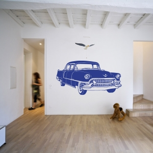 Cadillac wall decal