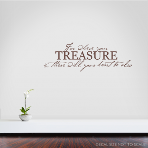 For where wall decal quote