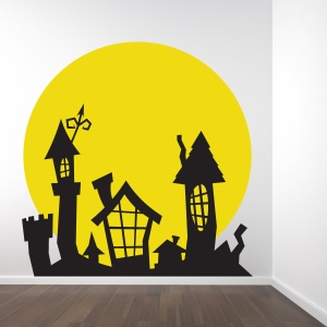 Friendly Ghost Wall Decal Sticker