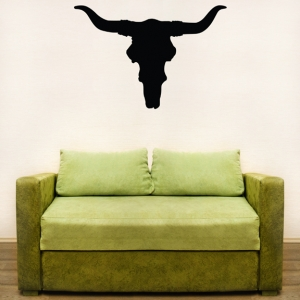 Bullhorn wall decal