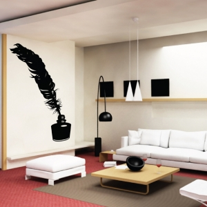 Chicken wall decal