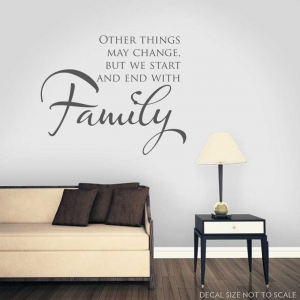 Other things wall decal quote