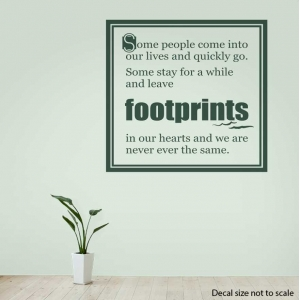 Some people wall decal quote
