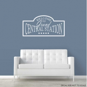 Welcome to wall decal quote
