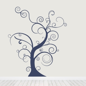 Abstract Tree Wall Decal