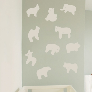 Animal Crackers wall decal